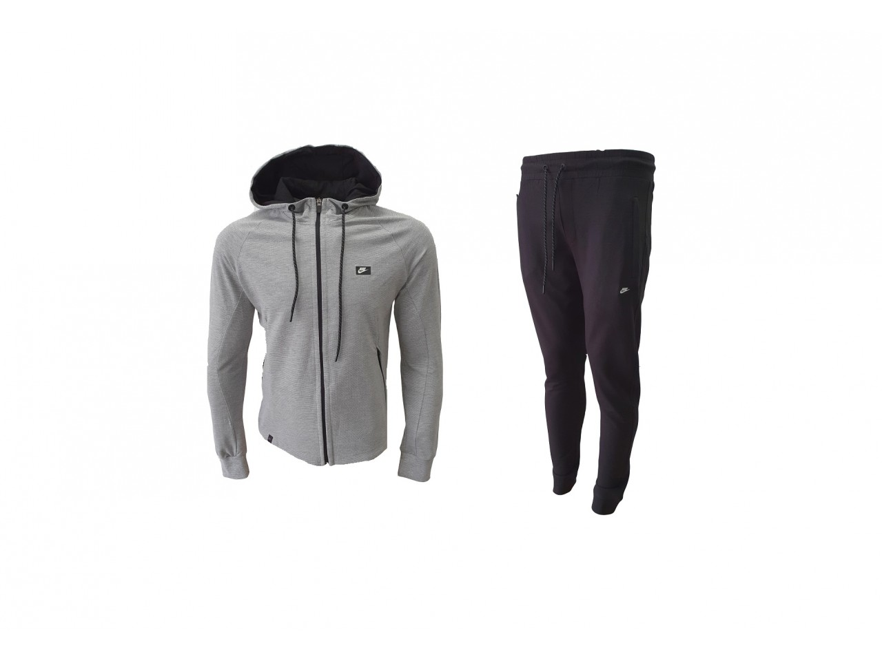 Nike Tracksuit New Model Light Grey & Dark Grey