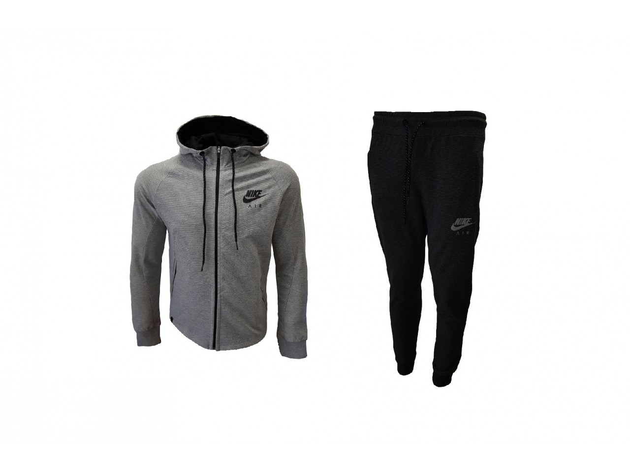 Nike Tracksuit A I R Light Grey Black
