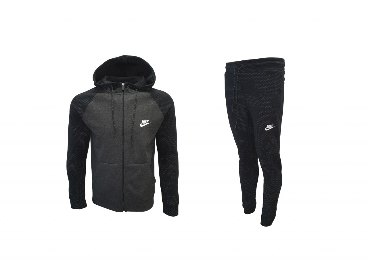 Nike Tracksuit Top Model Dark Grey Black