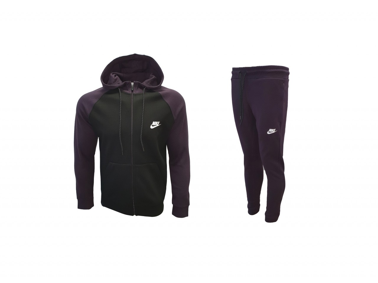 Nike Tracksuit Top Model Black Purple