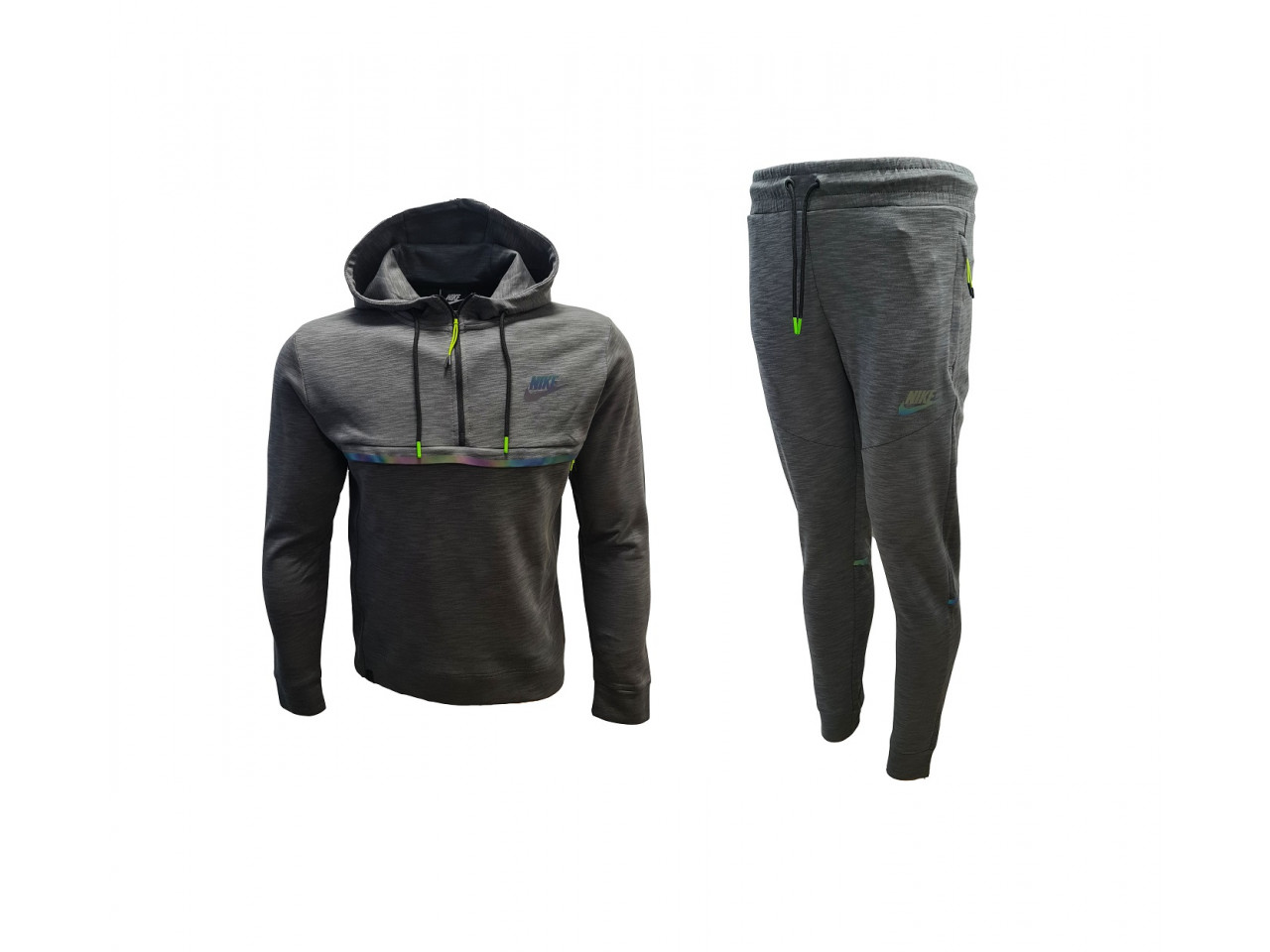 Nike Sweatshirt + Pants Dark Grey