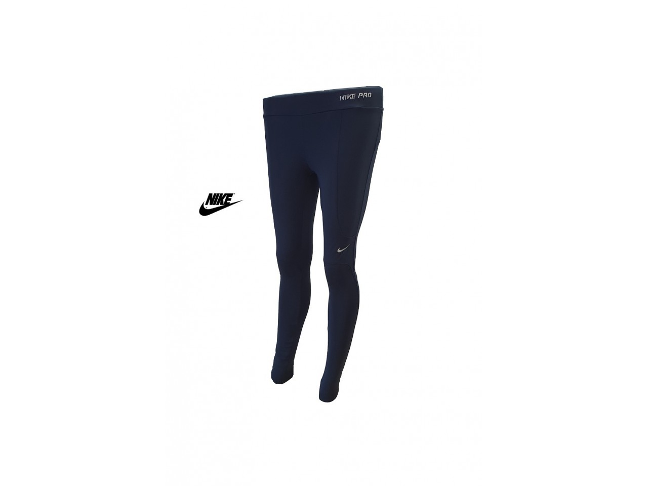 Nike PRO Womens Tights Dark Blue