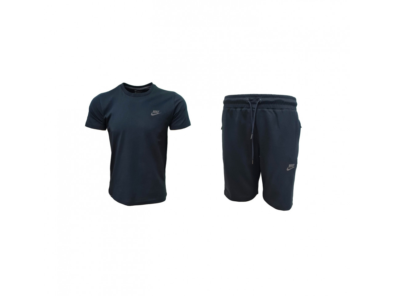 Nike INC. Shorts+ T-shirt Dark Blue