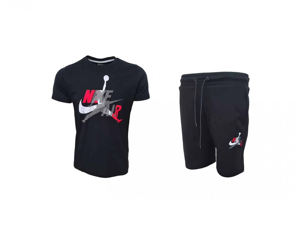 Nike AIR Shorts+ T-shirt Black