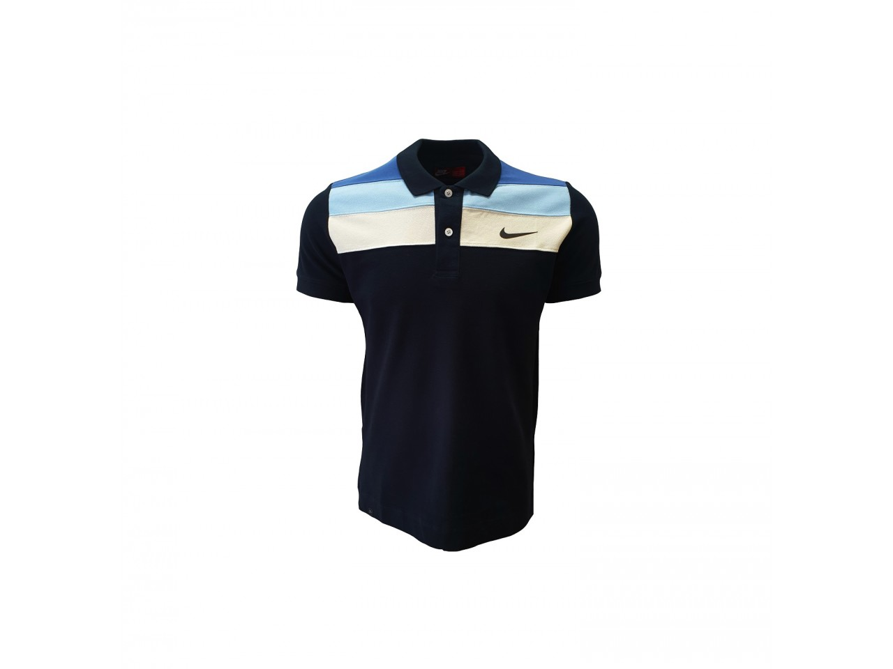 Nike Polo T-Shirt Dark Blue Light blue