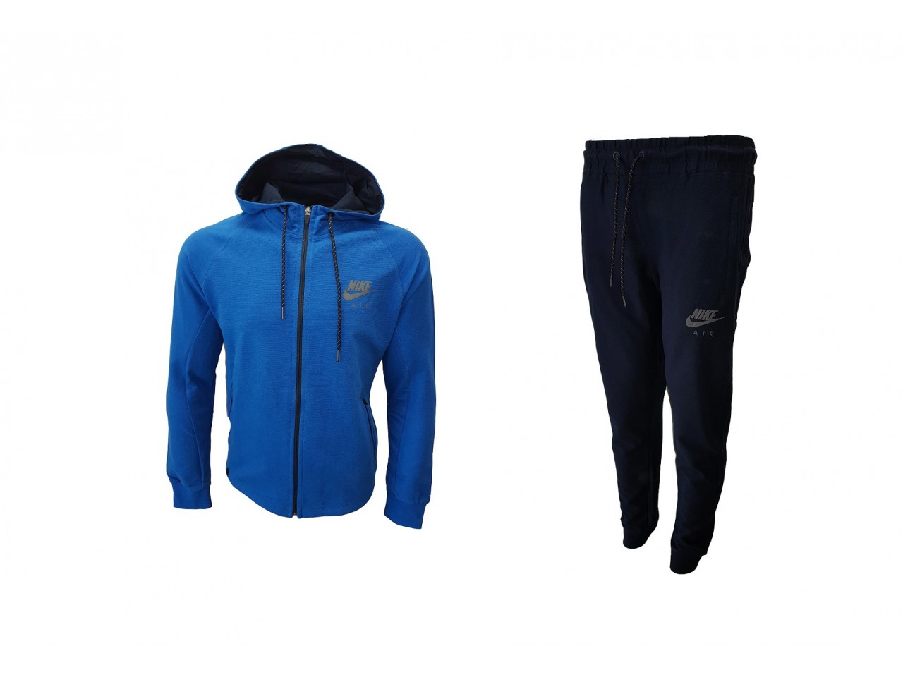 Nike Tracksuit A I R Light Blue Dark Blue