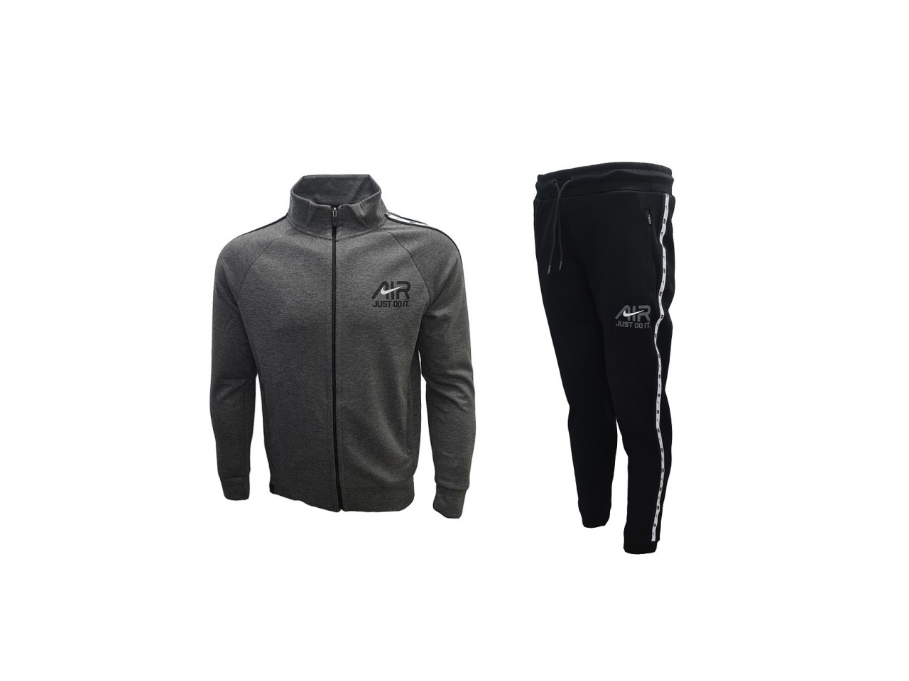 Nike Tracksuit AIR Just Do it Dark Grey Black
