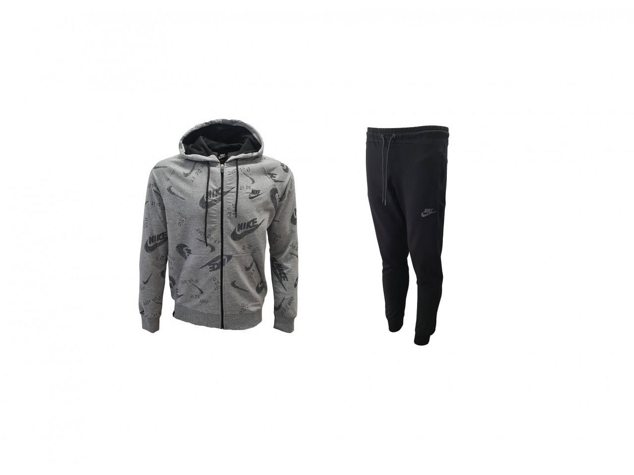 Nike Tracksuit Just Do it Dark Grey Black