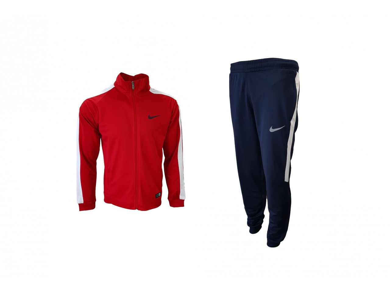 Nike Authentic Tracksuit Red & Indigo