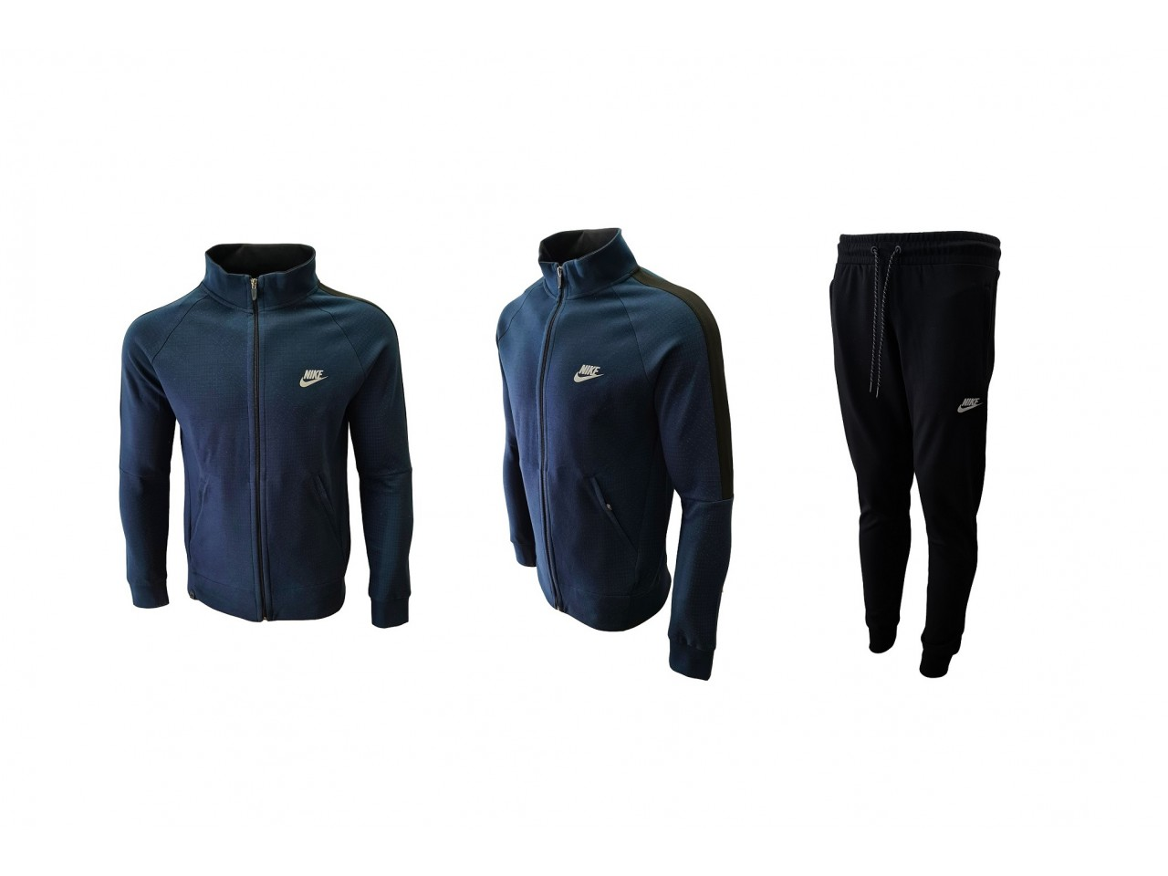 Nike Tracksuit New Model Dark Blue Black
