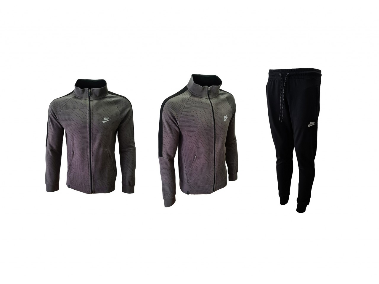 Nike Tracksuit New Model Dark Grey Black