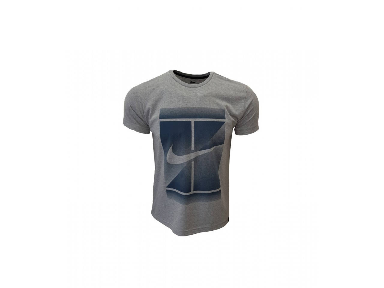 Nike T-Shirt Tennis Court Light Grey