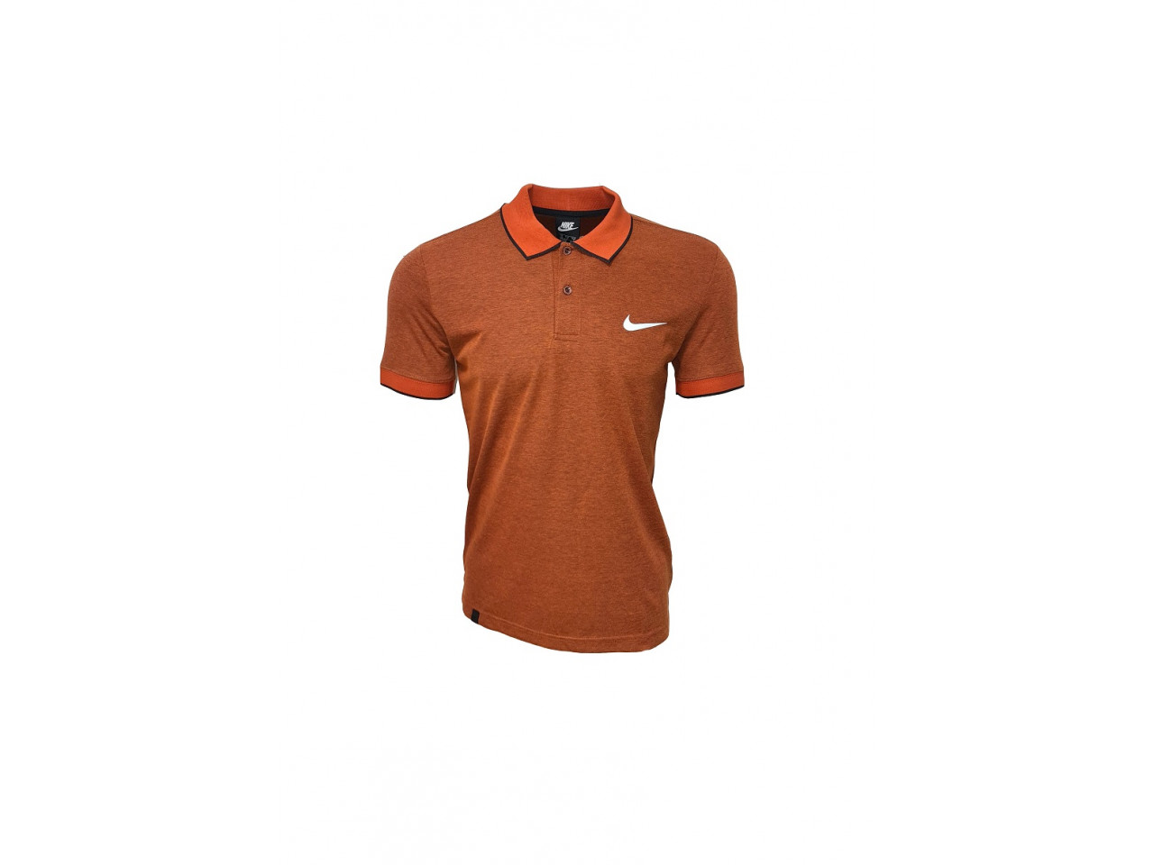 Nike Polo T-Shirt Orange
